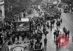Image of Trade unionists protest high food prices during World War I London England United Kingdom, 1916, second 23 stock footage video 65675042461