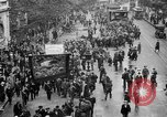 Image of Trade unionists protest high food prices during World War I London England United Kingdom, 1916, second 25 stock footage video 65675042461