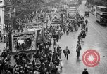 Image of Trade unionists protest high food prices during World War I London England United Kingdom, 1916, second 26 stock footage video 65675042461