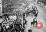Image of Trade unionists protest high food prices during World War I London England United Kingdom, 1916, second 32 stock footage video 65675042461