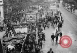 Image of Trade unionists protest high food prices during World War I London England United Kingdom, 1916, second 33 stock footage video 65675042461