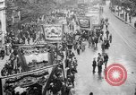 Image of Trade unionists protest high food prices during World War I London England United Kingdom, 1916, second 34 stock footage video 65675042461