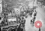 Image of Trade unionists protest high food prices during World War I London England United Kingdom, 1916, second 35 stock footage video 65675042461