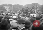 Image of Trade unionists protest high food prices during World War I London England United Kingdom, 1916, second 39 stock footage video 65675042461