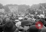 Image of Trade unionists protest high food prices during World War I London England United Kingdom, 1916, second 41 stock footage video 65675042461