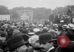Image of Trade unionists protest high food prices during World War I London England United Kingdom, 1916, second 42 stock footage video 65675042461