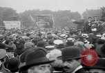 Image of Trade unionists protest high food prices during World War I London England United Kingdom, 1916, second 43 stock footage video 65675042461