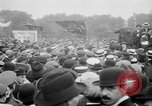 Image of Trade unionists protest high food prices during World War I London England United Kingdom, 1916, second 44 stock footage video 65675042461