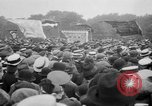 Image of Trade unionists protest high food prices during World War I London England United Kingdom, 1916, second 50 stock footage video 65675042461