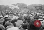 Image of Trade unionists protest high food prices during World War I London England United Kingdom, 1916, second 51 stock footage video 65675042461