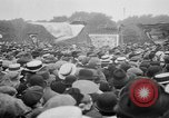 Image of Trade unionists protest high food prices during World War I London England United Kingdom, 1916, second 52 stock footage video 65675042461