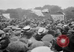 Image of Trade unionists protest high food prices during World War I London England United Kingdom, 1916, second 55 stock footage video 65675042461