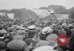 Image of Trade unionists protest high food prices during World War I London England United Kingdom, 1916, second 56 stock footage video 65675042461