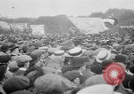 Image of Trade unionists protest high food prices during World War I London England United Kingdom, 1916, second 58 stock footage video 65675042461