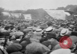 Image of Trade unionists protest high food prices during World War I London England United Kingdom, 1916, second 59 stock footage video 65675042461