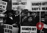 Image of Londoners protesting high food prices and milk shortage London England United Kingdom, 1916, second 10 stock footage video 65675042462