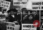 Image of Londoners protesting high food prices and milk shortage London England United Kingdom, 1916, second 11 stock footage video 65675042462