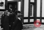 Image of Dignified gathering of ladies and gentlemen Wales United Kingdom, 1916, second 25 stock footage video 65675042467