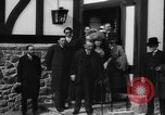 Image of Dignified gathering of ladies and gentlemen Wales United Kingdom, 1916, second 40 stock footage video 65675042467