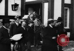 Image of Dignified gathering of ladies and gentlemen Wales United Kingdom, 1916, second 47 stock footage video 65675042467