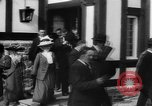 Image of Dignified gathering of ladies and gentlemen Wales United Kingdom, 1916, second 49 stock footage video 65675042467