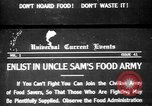 Image of save food campaign United States USA, 1918, second 1 stock footage video 65675042474