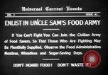 Image of save food campaign United States USA, 1918, second 2 stock footage video 65675042474