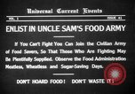 Image of save food campaign United States USA, 1918, second 3 stock footage video 65675042474