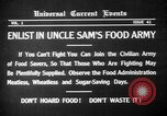 Image of save food campaign United States USA, 1918, second 4 stock footage video 65675042474