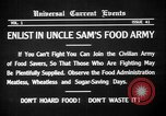 Image of save food campaign United States USA, 1918, second 5 stock footage video 65675042474