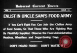 Image of save food campaign United States USA, 1918, second 8 stock footage video 65675042474