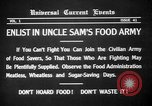 Image of save food campaign United States USA, 1918, second 12 stock footage video 65675042474