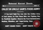 Image of save food campaign United States USA, 1918, second 13 stock footage video 65675042474