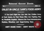 Image of save food campaign United States USA, 1918, second 14 stock footage video 65675042474