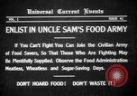 Image of save food campaign United States USA, 1918, second 15 stock footage video 65675042474