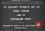 Image of Animated Uncle Sam as Pied Piper United States USA, 1918, second 1 stock footage video 65675042476