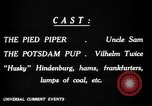 Image of Animated Uncle Sam as Pied Piper United States USA, 1918, second 24 stock footage video 65675042476
