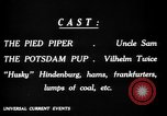 Image of Animated Uncle Sam as Pied Piper United States USA, 1918, second 30 stock footage video 65675042476