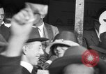 Image of Douglas Fairbanks and Mary Pickford selling WWI bonds Washington DC USA, 1918, second 54 stock footage video 65675042481