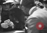 Image of Douglas Fairbanks and Mary Pickford selling WWI bonds Washington DC USA, 1918, second 62 stock footage video 65675042481