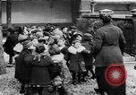 Image of French children in World War I France, 1918, second 21 stock footage video 65675042486