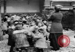 Image of French children in World War I France, 1918, second 22 stock footage video 65675042486
