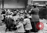 Image of French children in World War I France, 1918, second 23 stock footage video 65675042486