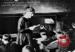 Image of French children in World War I France, 1918, second 49 stock footage video 65675042486