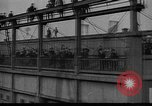 Image of Woodrow Wilson traveling to Paris Peace Conference Hoboken New Jersey USA, 1918, second 9 stock footage video 65675042490