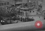 Image of Woodrow Wilson traveling to Paris Peace Conference Hoboken New Jersey USA, 1918, second 20 stock footage video 65675042490