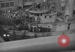 Image of Woodrow Wilson traveling to Paris Peace Conference Hoboken New Jersey USA, 1918, second 21 stock footage video 65675042490