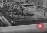 Image of Woodrow Wilson traveling to Paris Peace Conference Hoboken New Jersey USA, 1918, second 23 stock footage video 65675042490