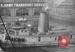 Image of Woodrow Wilson traveling to Paris Peace Conference Hoboken New Jersey USA, 1918, second 28 stock footage video 65675042490