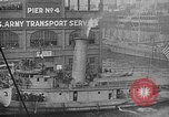 Image of Woodrow Wilson traveling to Paris Peace Conference Hoboken New Jersey USA, 1918, second 29 stock footage video 65675042490